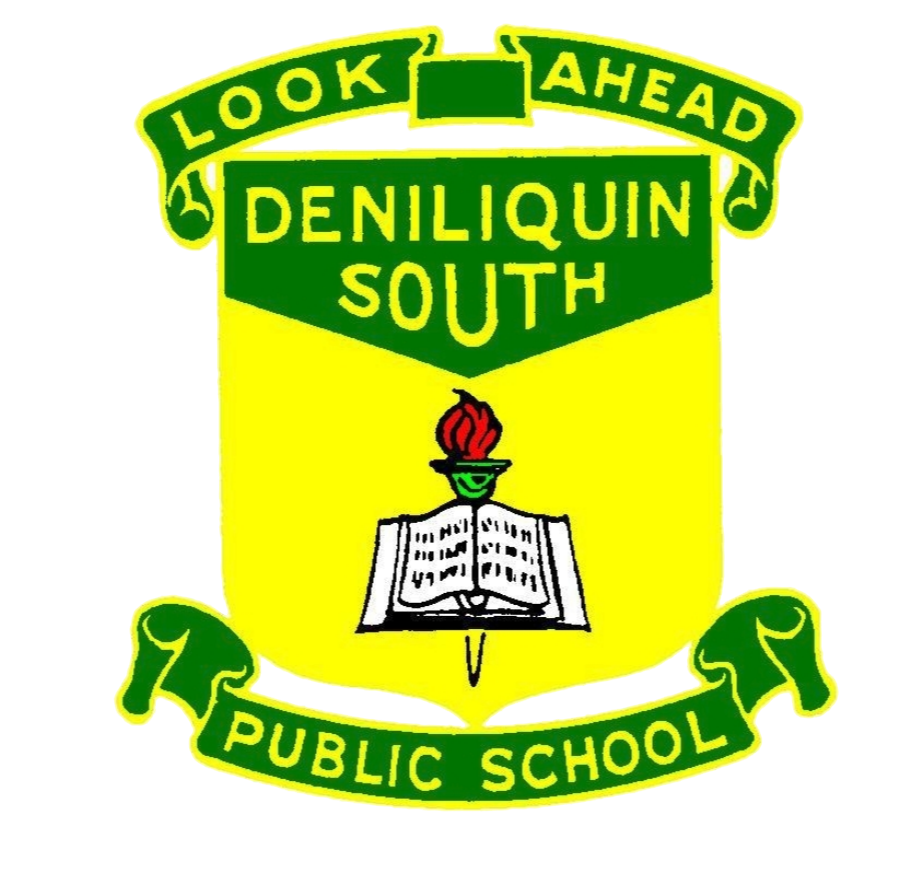 Deniliquin South Public School logo